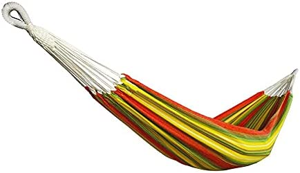 Bliss Hammocks BH-400-MT Hammock in a Bag, Cotton, Portable, Supports up to 220-Pounds for Camping, Hiking and Outdoors, Mai Tai Stripe