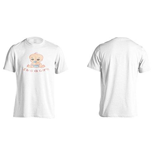 Es Ist Ein Mädchen Herren T-Shirt k868m