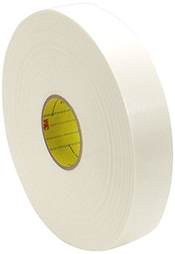 1.6 mm 62 mil 0.125 x 5 Yards Roll Thick 3M 4466W White Adhesive Tapes