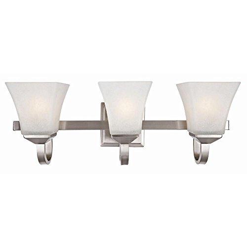 SaintMossi 3 Lights Vanity Light Wall lamp For Bathroom Living room Bedroom Lighting