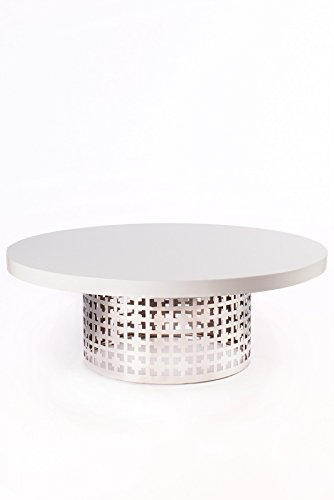 Statements by J CT1-WHT002 Dior Coffee Table by Statements by J