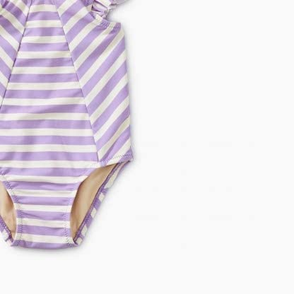 Aster Girls Tea Collection Striped Baby One-Piece Swimwear