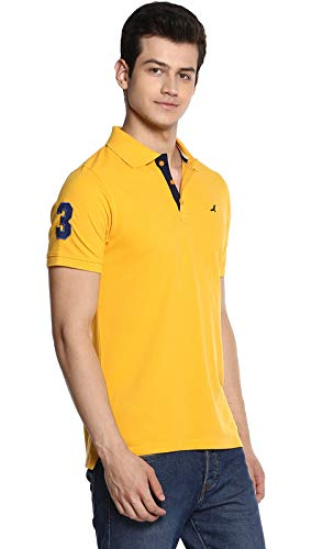 AMERICAN CREW Men's Polo Collar Half Sleeve T-Shirt