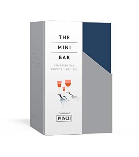 The Mini Bar: 100 Essential Cocktail Recipes; 8 Notebook Set -