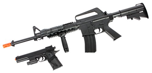 Soft Air COLT A1 RIS Spring Rifle and Pistol On-Duty ()