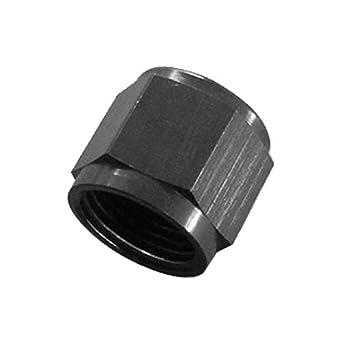 Black Tube Size 3//4 Roadrunner Performance AN12-TNUTBK Hard Line Adapter Tube Nut