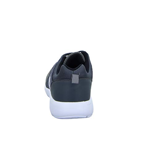 0893 Grau Sneakers Grau Herren Schnürhalbschuh 18 60q07