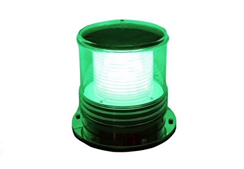 Solar-Dock-Warning-Light-Waterproof-Solar-Dock-Lighting-GREEN-LED-Flashing-360-Degree-Lighting