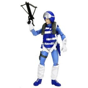 G.I. Joe, 25th Anniversary Action Figure, Counter Intelligence Code Name: Scarlett (Pilot Outfit), 3.75 Inches (Gi Joe Scarlett)