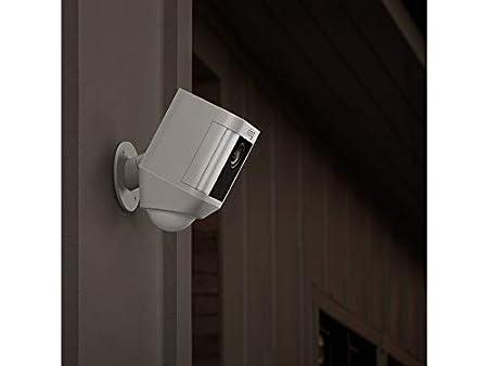 Ring Spotlight Cam Wired C/ámara de seguridad HD con foco LED alarma comunicaci/ón bidireccional enchufe UE
