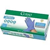 Curad / Medline Powder Free Nitrile Exam Glove/medical Exam Quality Medium Case/1000 Ct