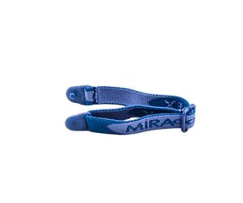 Miraflex Replacement Straps Eyeglasses Medium Adjustable Elastic (Dark Blue) by MIRAFLEX