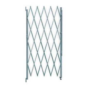 Industrial Grade 2XZG1 Steel Folding Gate, Opening 3-4Ft