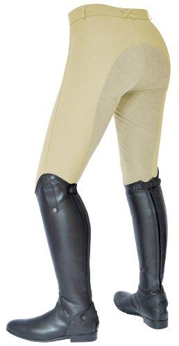 per beige Todd equitazione con donna rinforzato Pantaloni Performance da sedile Mark HFvwx8wO