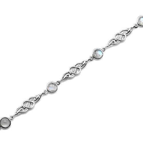 Buy moonstone bracelet sterling silver