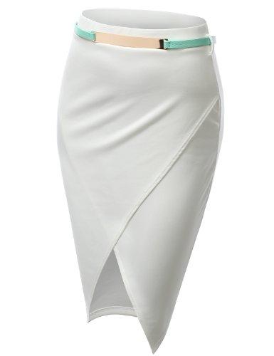 J.TOMSON Womens Detailed Pencil Skirt