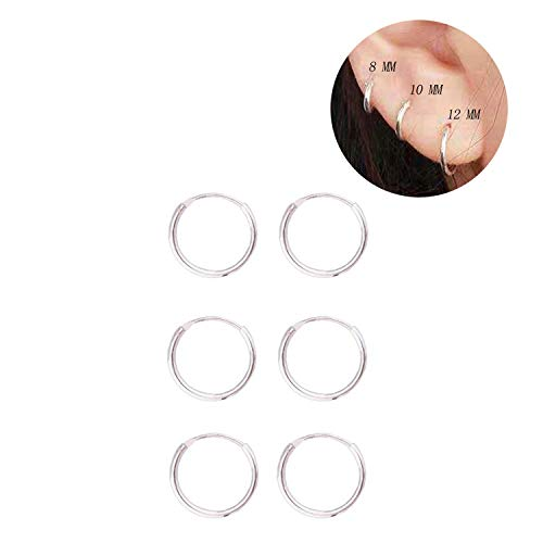 Sterling Endless Earrings Cartilage Piercing product image