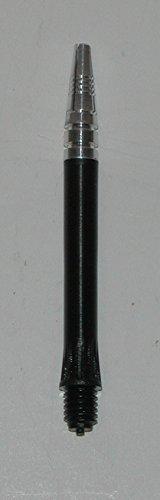 US Darts - 2 Sets (6 shafts) Black Alamo Dart Shafts - Short Length