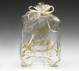 Jewel Swirl Design Clear Cellophane product image
