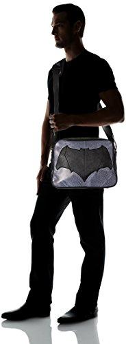 DC COMICS BATMAN Bolso bandolera, negro (Negro) - TIME-CD004BVS-MB
