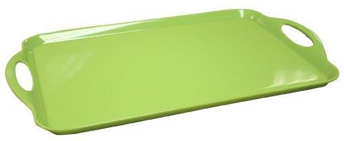 Calypso Basics 07901 Tablett aus Melmaine, rechteckig, Limettengrün