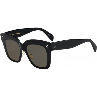 Celine CL41444/S 06Z Black 41444/S Square Sunglasses Lens Category 3 Size - Sunglasses Cl