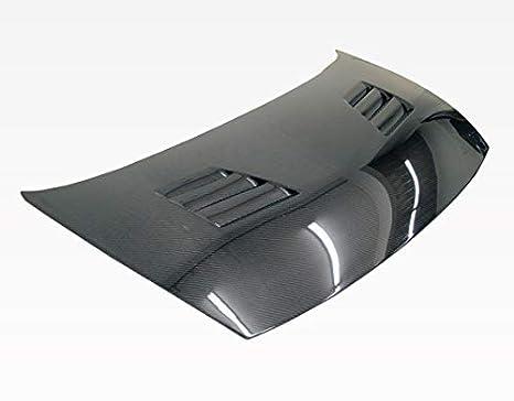 Amazon com: VIS Racing (VIS-ENA-595) Black Carbon Fiber Hood