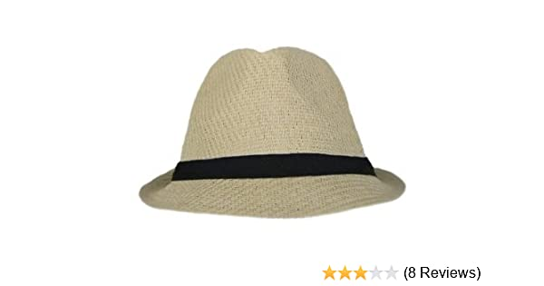 Tweed Classic Cuban Style Fedora Fashion Cap Hat - (5 Colors Available)  (Straw) at Amazon Women s Clothing store  Novelty Baseball Caps 2b429cce227f