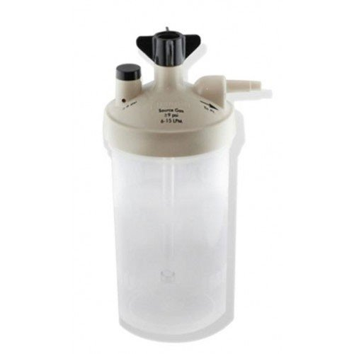 (Salter Labs HIGH FLOW Oxygen Bubbler Bottle - Humidity for Oxygen Therapy)