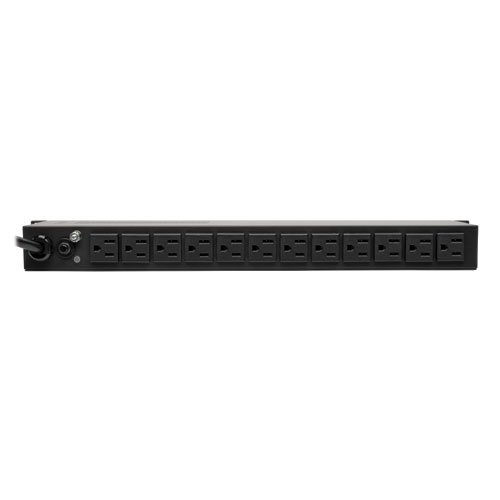 Tripp Lite Metered PDU, 15A, Isobar Surge Suppression, 3840J, 14 Outlets (5-15R), 120V, 5-15P, 15 ft. Cord, 1U Rack-Mount Power (PDUMH15-ISO)