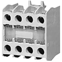 Eaton C320KGT15 Nema Auxiliary Contact For Nema Starters, Top Mount, 2 NO + 2 NC Contacts by Eaton