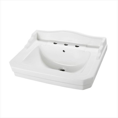 Foremost Series 1930 20-1/4 in. Pedestal Sink Basin in White