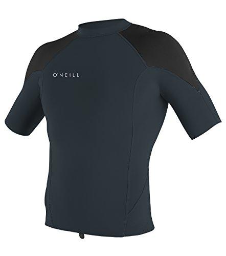 O'Neill Men's Reactor-2 1.5mm Short Sleeve Top, Slate/Black,