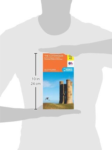 15de532c OS Explorer OL45 The Cotswolds (OS Explorer Map): Amazon.co.uk: Ordnance  Survey: Books
