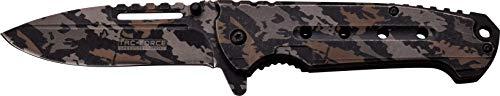 Digi Camo Handle - TAC Force TF-921CD-MC TF-921Cd Spring Assisted Knife, Stainless with Laser Digi Camo Handle, 4.75