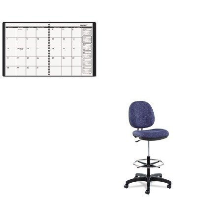 KITAAG7026005ALEIN4621 - Value Kit - Best Interval Series Swivel Task Stool (ALEIN4621) and At-a-Glance Recycled Monthly Planner (AAG7026005) by Best
