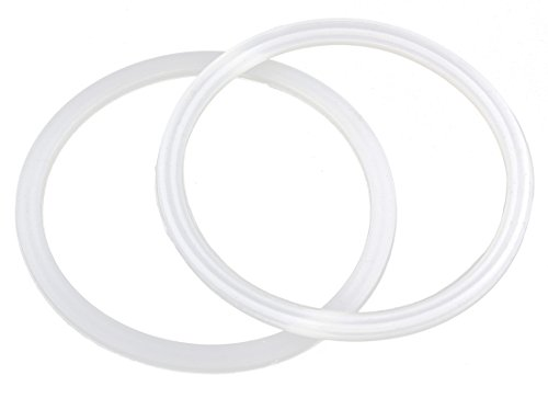 (2 Pack) Rubber Replacement Rings for 30-Ounce Tumblers; Flexible Spare