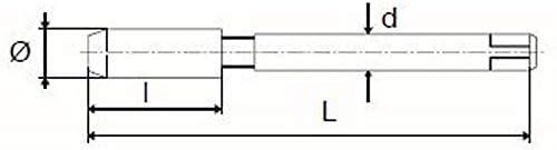 1X Rotring Maschinen Gewindebohrer HSS-CO M 8 x 1.25 DIN 371/A