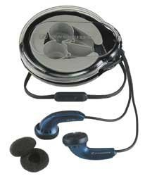 Sennheiser MX500 Lightweight In-Ear Headphone (Blue) with Carrying Case (Discontinued by Manufacturer)