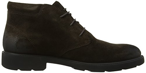 Geox U Rubbiano B Abx - Zapatos de cordones para hombre Chestnut