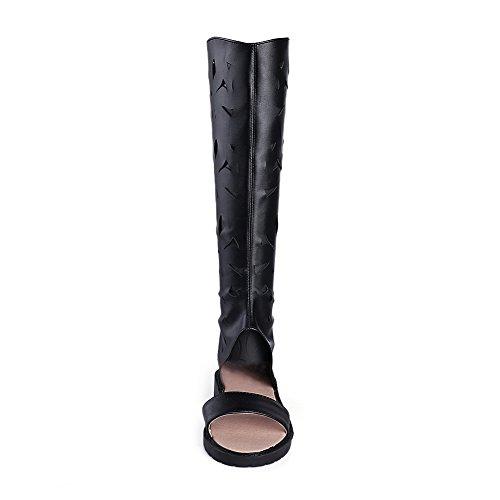BalaMasa 36 Femme Noir Bout 5 Ouvert Noir ASL05441 rq6nwRYxOr