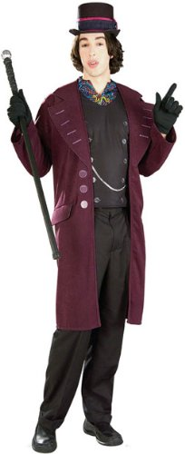 [Willy Wonka Costume - X-Large - Chest Size 50] (Willy Wonka Costume)