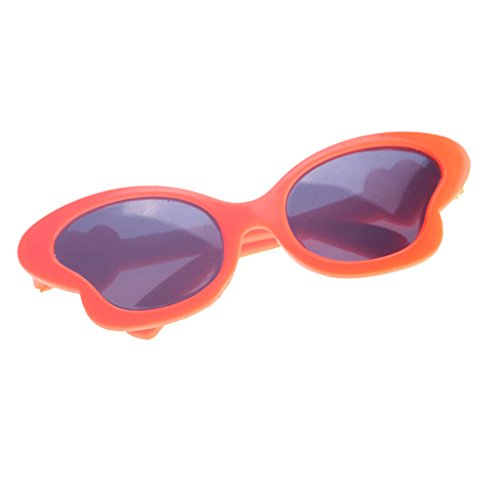 Jili Online Adorable Orange Eye Glasses Sunglasses for 18inch American Girl Hannah Journey Dolls Dress up Accessories