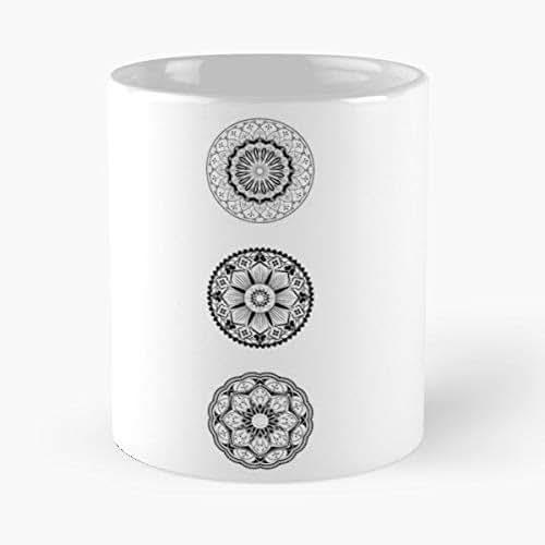 Amazon.com: Yoga Mandala For Beginners Online - 11 Oz Coffee ...