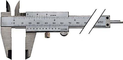 ORION parallaxfreier Messschieber 150 mm mit Feststellschraube