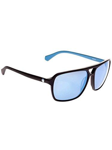 Dragon Alliance Matte Black/Blue/Sky Blue Ion Passport - Blue Sunglasses Dragon