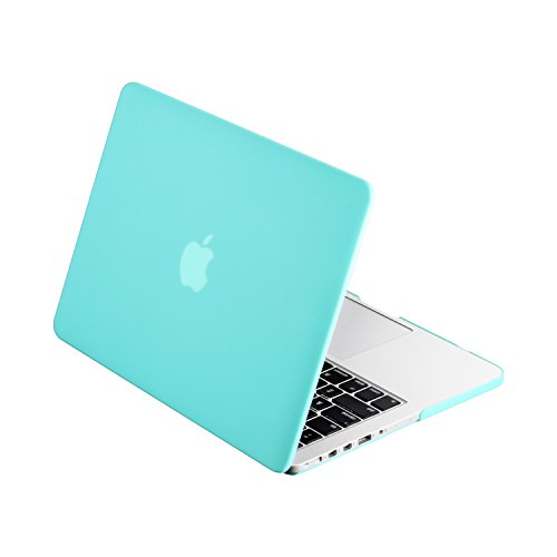 TopCase Turquoise Rubberized MacBook Display