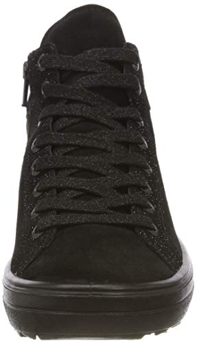 Legero Mira Trainers Top Women's Schwarz Hi 00 Black pprTq5Ax