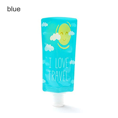5e1bc6204401 Box Makeup - Trip Folding Plastic Portable Shower Bottle Mini Empty  Separating Storage Bag Makeup Containe 1pc Travel Supplies
