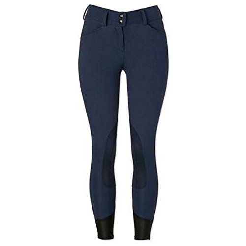 Rise Low Breech (RJ Classics Gulf Low Rise Front Zip Breeches - Navy/Brown (28R))